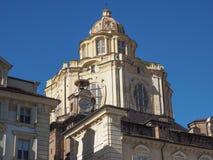 San Lorenzo church Turin Royalty Free Stock Image