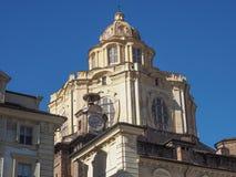 San Lorenzo church Turin Stock Image
