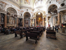 San Lorenzo church in Turin Royalty Free Stock Images