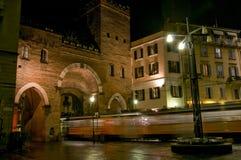 San Lorenzo clolumns Royalty Free Stock Photography