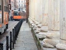 San lorenzo columns in milan, Italy Royalty Free Stock Image