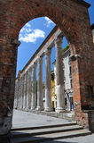 San Lorenzo columns in Milan, Italy Stock Photos
