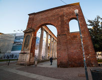 San lorenzo columns, Milan Royalty Free Stock Photos