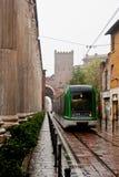 San Lorenzo Columns and Tram Stock Photos