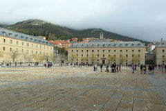 San Lorenzo de El Escorial Stock Photography