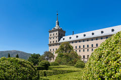 San Lorenzo de El Escorial - Espanha - UNESCO fotos de stock royalty free
