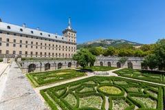 San Lorenzo de El Escorial - Espanha - UNESCO imagem de stock