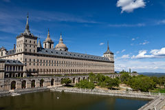 San Lorenzo de El Escorial Monastery, Spain Stock Images