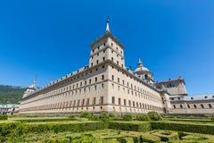 San Lorenzo de El Escorial - Spanien - UNESCO stockfotografie