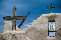 San Lorenzo de Picuris church in New Mexico Stock Image