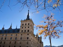 San Lorenzo del Escorial. Images of San Lorenzo del Escorial. Madrid, Spain Stock Photos