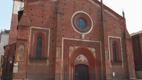 San Lorenzo kościół w Mortara, PV, Włochy zdjęcie wideo