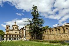 San Lorenzo kościół, Pamplona Hiszpania Zdjęcia Stock