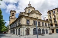 San Lorenzo kościół, Pamplona Hiszpania Obrazy Stock