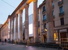 San Lorenzo kolumny, Mediolan Fotografia Royalty Free