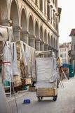 San Lorenzo Leather Market Florence Photo libre de droits
