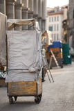 San Lorenzo Leather Market Florence Photos libres de droits