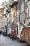 San Lorenzo Leather Market Florence Stock Images