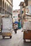 San Lorenzo Leather Market Florence Royalty Free Stock Images