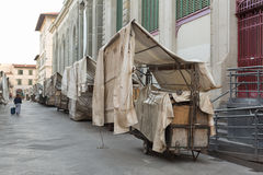 San Lorenzo Leather Market Florence Royalty Free Stock Photography