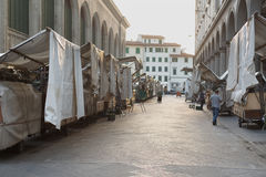 San Lorenzo Leather Market Florence Royalty Free Stock Photo