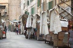 San Lorenzo Leather Market Florence Royalty Free Stock Photo