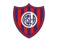 San Lorenzo Logo stock illustrationer