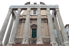 San Lorenzo in Miranda in Rome, Italy. Royalty Free Stock Photos
