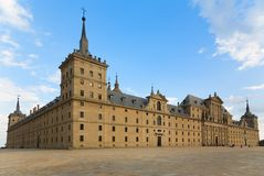 San Lorenzo Monastery in Gr Escorial, Madrid Royalty-vrije Stock Afbeelding
