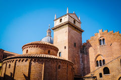 San Lorenzo Rotonda in Mantua Royalty-vrije Stock Fotografie