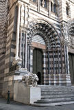 San- Lorenzokathedrale Genua Lizenzfreie Stockfotos