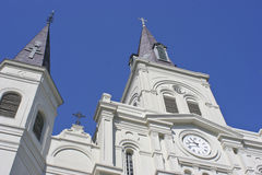 San Louis Cathedral in Jackson Square fotografia stock