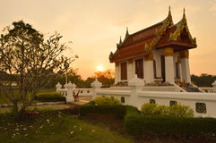 San Luang Pho chantent le temple, Prachin Buri, Thaïlande Photo stock
