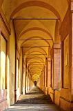 San Luca arcade in Bologna, Italy Stock Photo