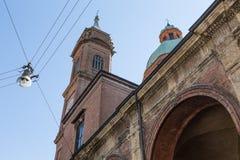 San luca arcade in Bologna, Italy Stock Photography