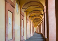 San Luca Colonnade. Colonnade of San Luca Sanctuary in Bologna, Italy Stock Photography