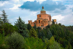 San Luca Sanctuary Stock Images