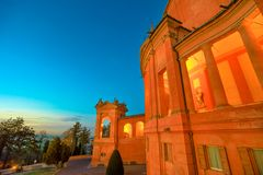 San Luca sanktuarium obrazy royalty free