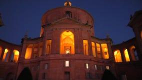 San Luca sanktuarium noc zbiory