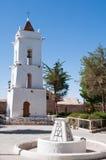 San Lucas kyrka, Toconao (Chile) royaltyfri fotografi
