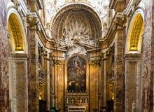 San Luigi dei Francesi. The Church of St. Louis of the French Stock Photography