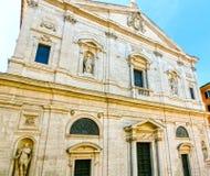 San Luigi dei Francesi. Rome, Italy. Royalty Free Stock Image