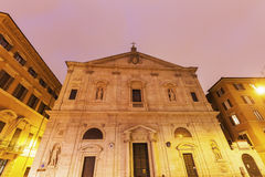 San Luigi dei Francesi. Rome, Lazio, Italy Royalty Free Stock Photo