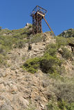 San Luigi Mine. Sardinia Royalty Free Stock Photo