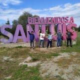 San Luis amigos obrazy stock