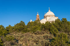 San Luis Church Historic Landmark. Historic landmark located in San Luis Colorado, near the New Mexico Border. Locals and tourists travel to this historic church Royalty Free Stock Photography