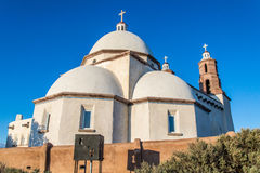 San Luis Church Historic Landmark. Historic landmark located in San Luis Colorado, near the New Mexico Border. Locals and tourists travel to this historic church Stock Photo