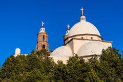 San Luis Church Historic Landmark Panoramic imagem de stock