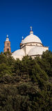 San Luis Church Historic Landmark Panoramic Stock Photo