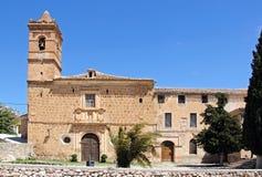 San Luis church, Velez Blanco. Stock Photo